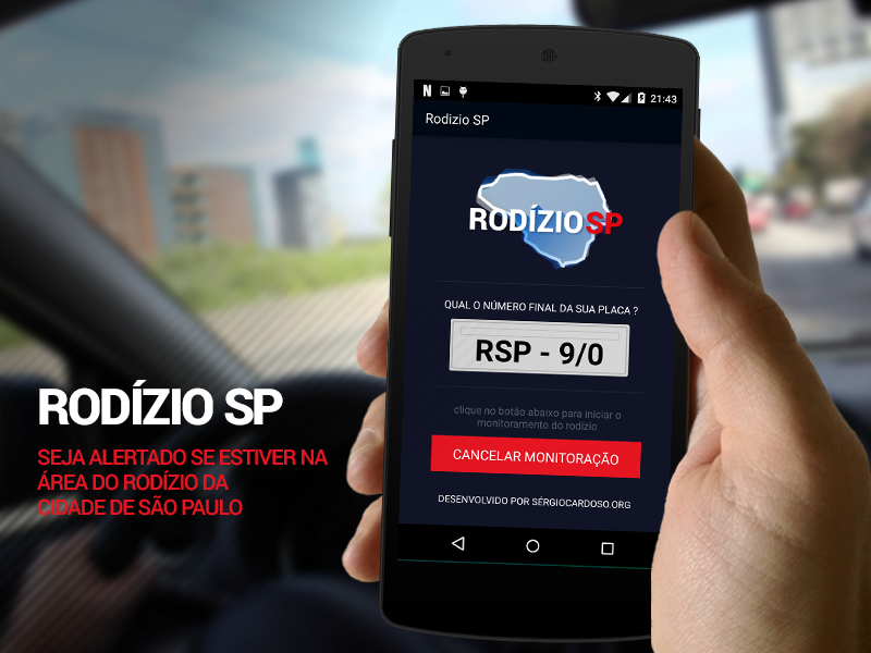 Rodízio SP- screenshot