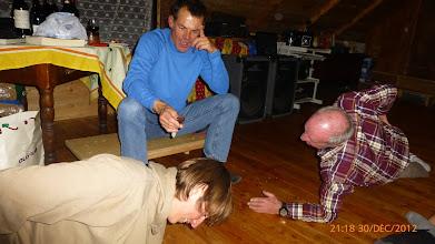 Photo: Les hommes dans toute leur splendeur.......c'est qui le plus fort!