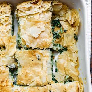 Spanakopita Recipe (Greek Spinach Pie).