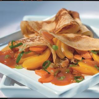 Gemüse-Obst-Pfannkuchen