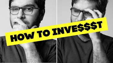How to Invest - YouTube Thumbnail template