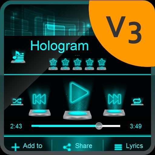 Hologram PlayerPro Skin