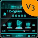 Holograma PlayerPro Piel icon