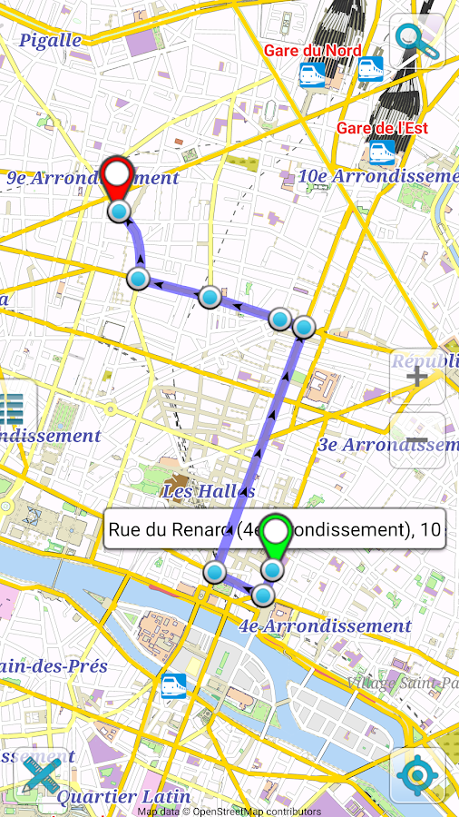 Map Of Paris Offline Android Apps On Google Play - Paris map images