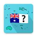 Oceania and Australia quiz – countries and flags icon