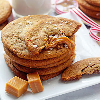 Salted Caramel Ginger Cookies.