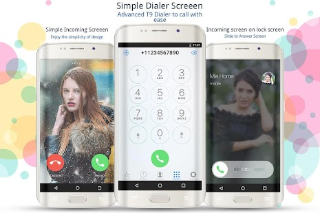 Caller Screen Dialer Pro Screenshot