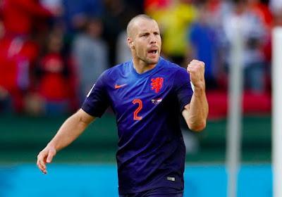 Ron Vlaar, troisième du Mondial 2014 avec les Pays-Bas, prend sa retraite