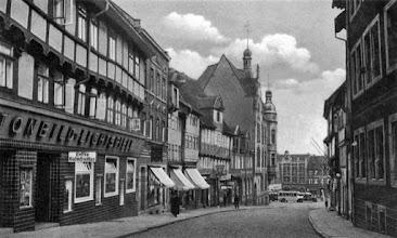 Photo: 1936 - Kornstraße richtung Markt