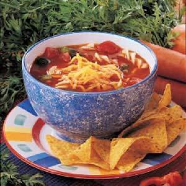 Pronto Taco Soup Recipe