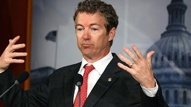 Photo: WASHINGTON, DC - MARCH 15: Sen. Rand Paul (R-KY) talks about Medicare during a news conference on Capitol Hill March 15, 2012 in Washington, DC.  Sen. Paul unveiled a Medicare reform plan that would allow seniors to join their Member of Congress's health plan. (Photo by Mark Wilson/Getty Images)
