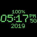 3D Digital Clock Live Wallpaper-7 icon