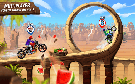 Rush To Crush New Bike Games: Bike Race Free Games apkbreak screenshots 1