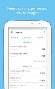 Wedding Planner Checklist Budget Countdown Screenshot Thumbnail