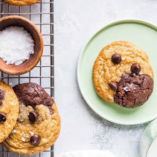Brookies (Chocolate Chip Brownie Cookies).