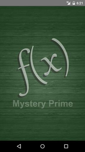 Mystery Prime