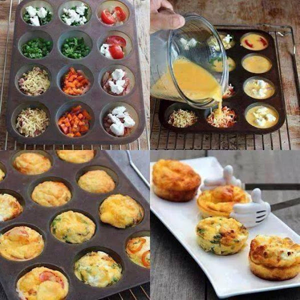 Egg Muffins, Personalized Recipe