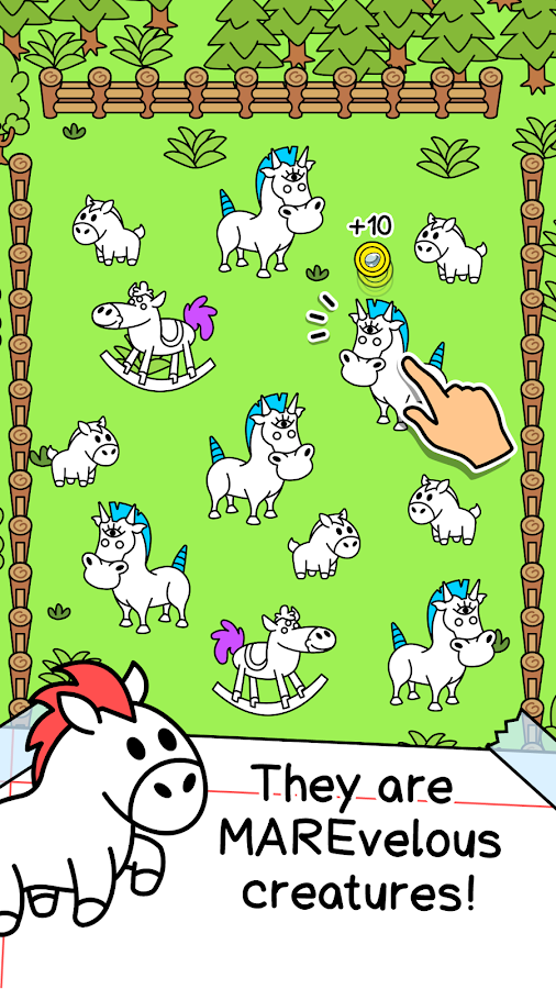 Horse Evolution - Mutant Ponies and Stallions- screenshot