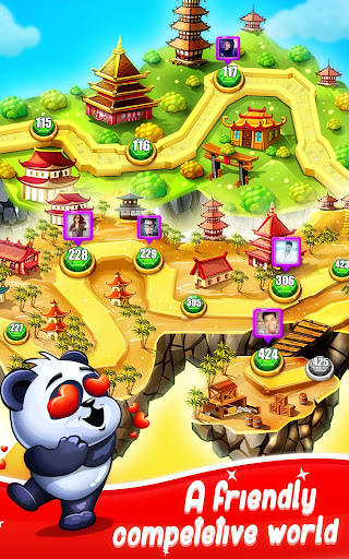 Panda Gems - Jewels Match 3 Games Puzzle filehippodl screenshot 3