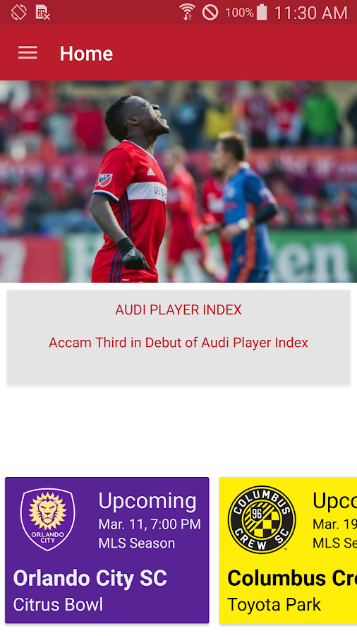 Chicago Fire SC - Official App- screenshot