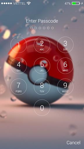 Lock screen for Pokeball 1.03 screenshots 6