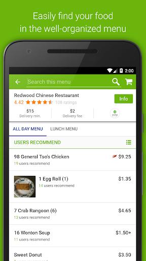 BeyondMenu Food Delivery Screenshot