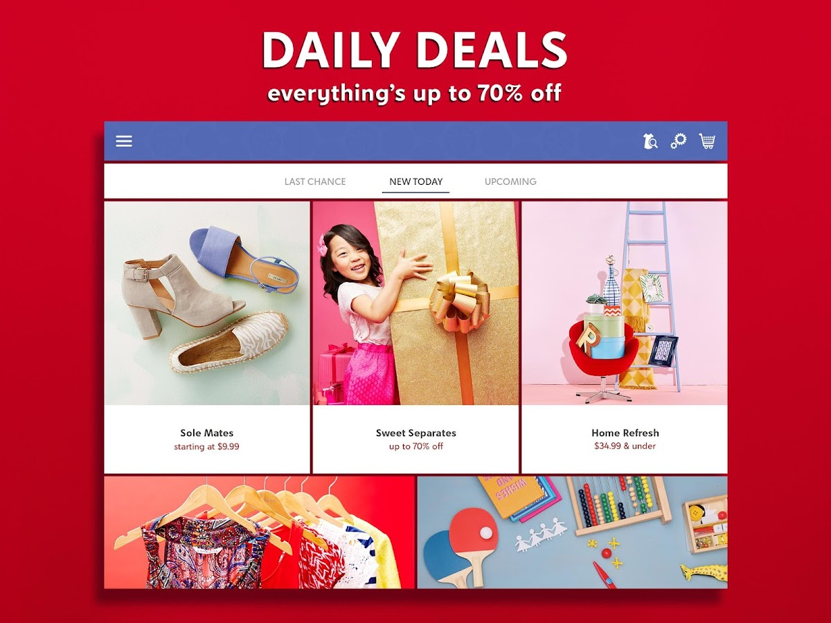 zulily - Shop Daily Deals for Gifts for the Family- screenshot
