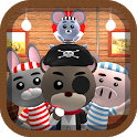 Animal Pirate【Find the difference】 icon