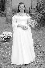 Photo: Casamento de Glaucia e Willian em estilo medieval.  Confeccionamos as roupas dos noivos.