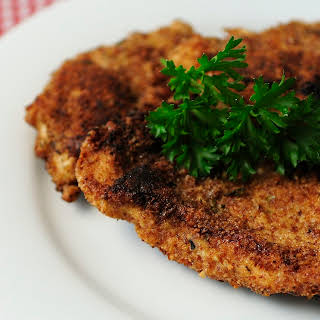 Almond Crusted Chicken.