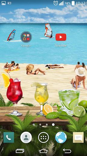 QHD HAWAII BEACH LIVEWALLPAPER