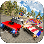 SuperHero Asphalt Stunt Car : Color Racing Cars🏎