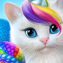 Knittens - A Fun Match 3 Game icon