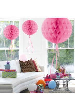 Dekorationsboll, rosa 30 cm