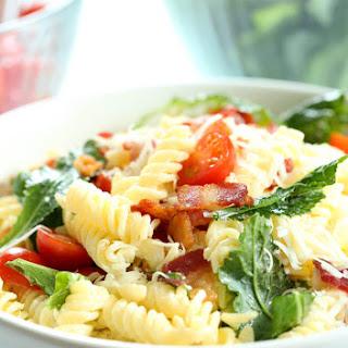 BLT Gluten Free Pasta Salad.