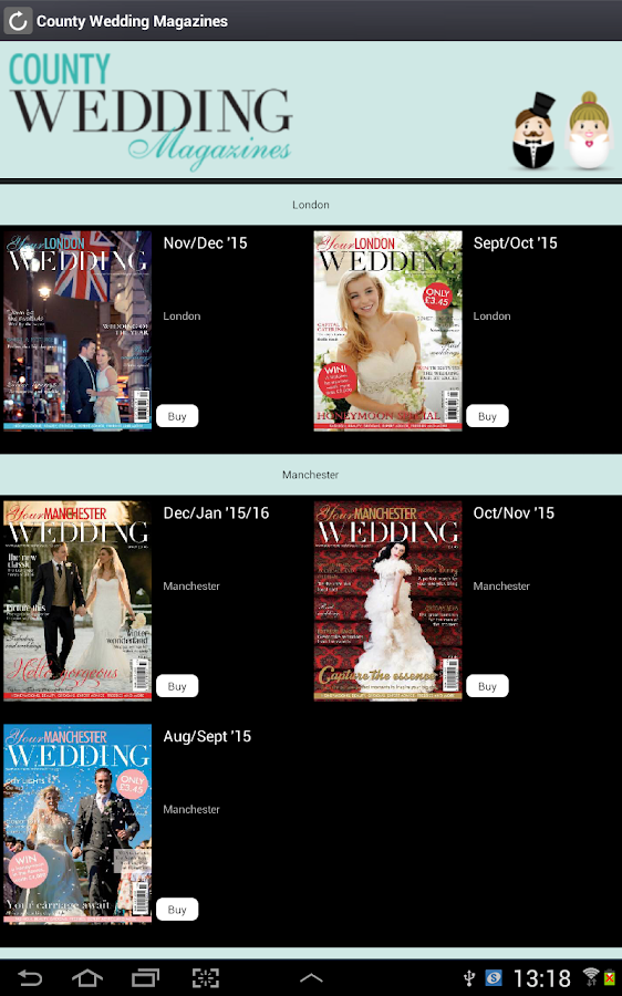 County Wedding Magazines- screenshot