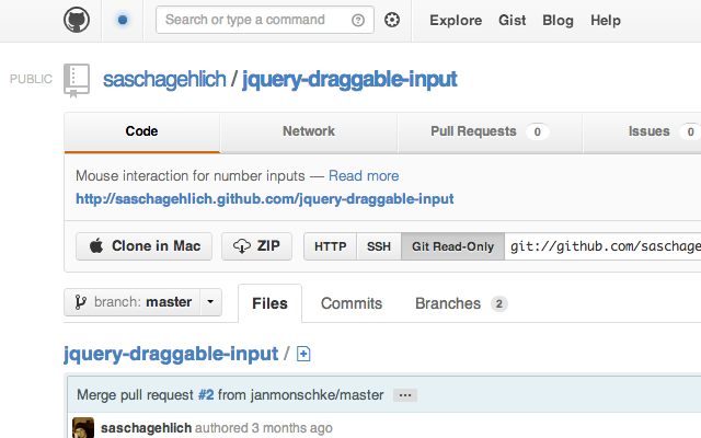 Github Pages Extension