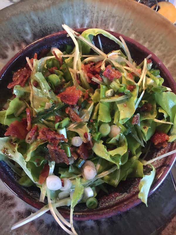 Wilted Lettuce And Onions Recipe