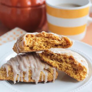 Pumpkin Spice Scones.