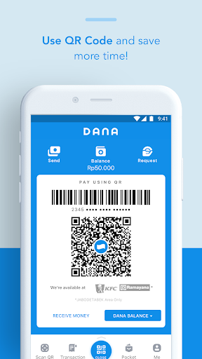DANA - Indonesia\\\'s Digital Wallet Apps (apk) kostenlos herunterladen für Android/PC/Windows screenshot