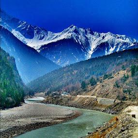 Incredible Kinnaur by Sachin Sharma - Landscapes Mountains & Hills ( satluj, kinnaur, landscapes, himalayas, himachal )