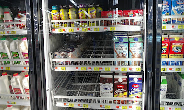 Photo: The International Delight Mocha #IcedCoffee is just next to the milk section in Walmart.