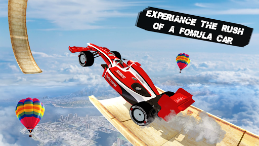 Formula Car Racing Stunt 3D: Mega Ramp Car Stunts android2mod screenshots 1