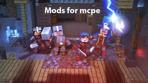 Mods for minecraft pe screenshot 3