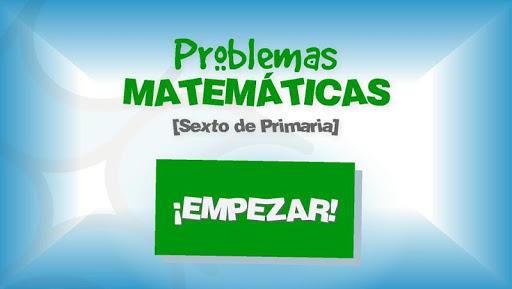 Problemas Matemáticas 6