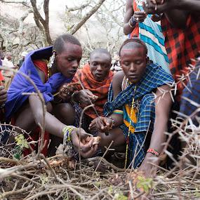 Maasai Warriors by VAM Photography - People Street & Candids ( tanzania, places, maasai warriors, culture, young men, people )