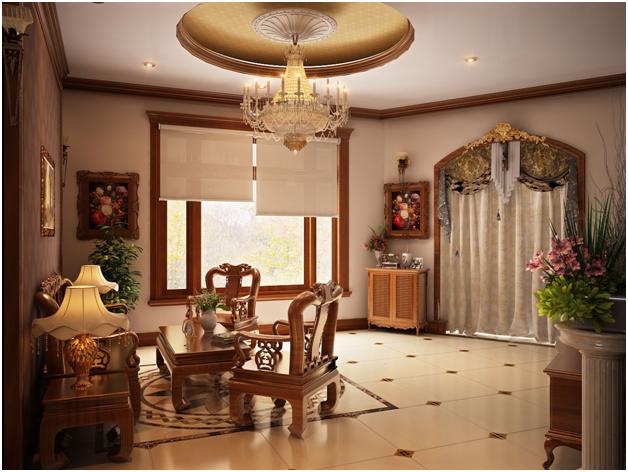 Lựa chọn nội thất với vật liệu cao cấp