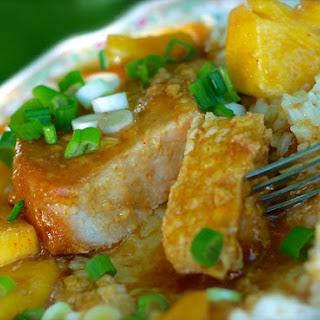 Crock Pot Hawaiian Pork Chops.