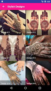 Latest Mehndi Designs - náhled