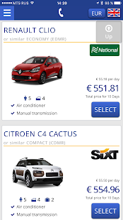 Bookingcar – car hire app- screenshot thumbnail